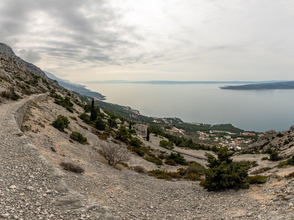 Panoramablick Insel Brac