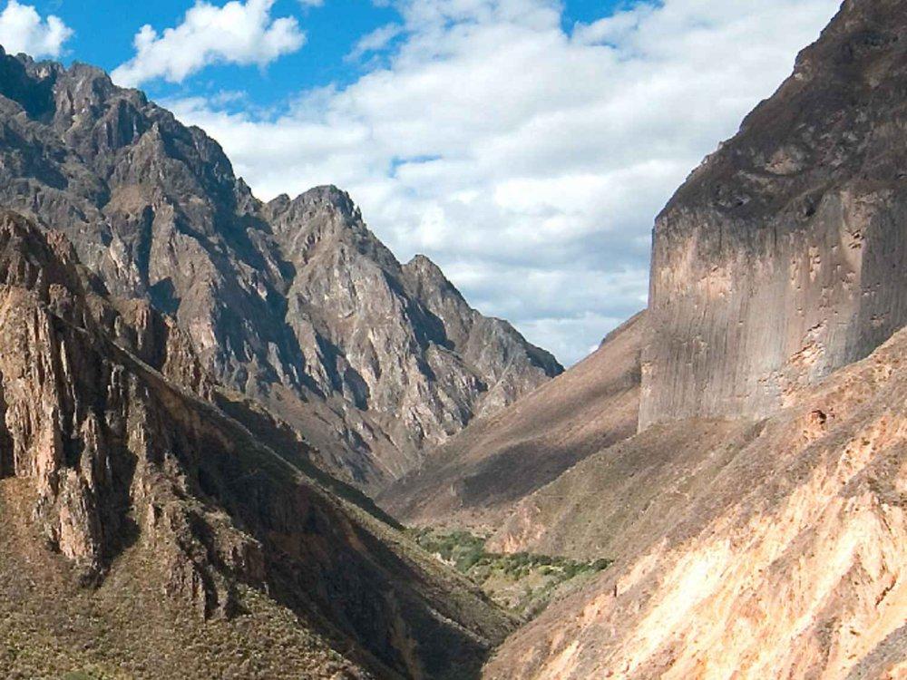 188P00005 Colca Canyon Trekking Karte