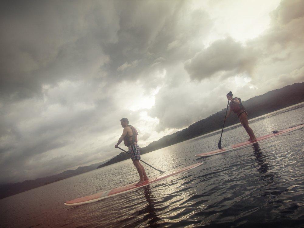 La Fortuna Lake Arenal Sunset Paddle Boading