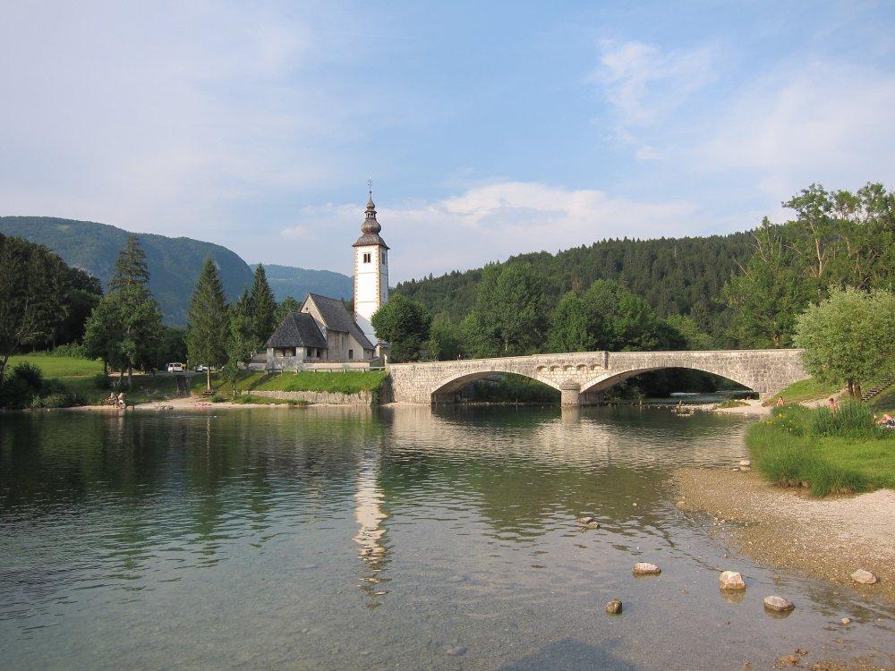 Lake Bohinj Triglav