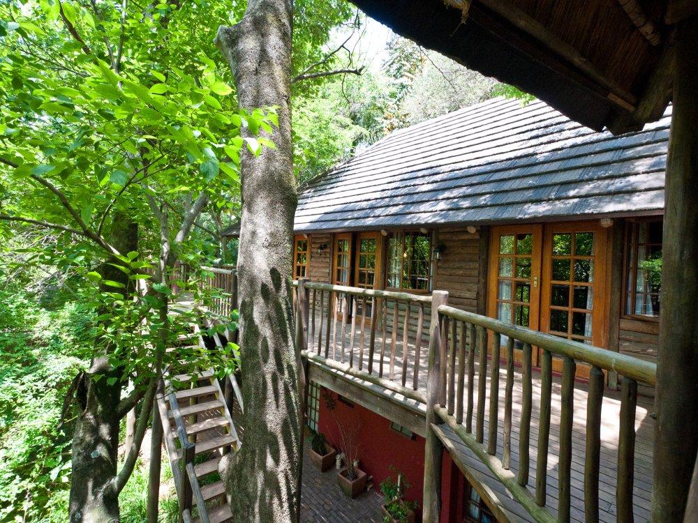 Drifters Lodge Terrasse
