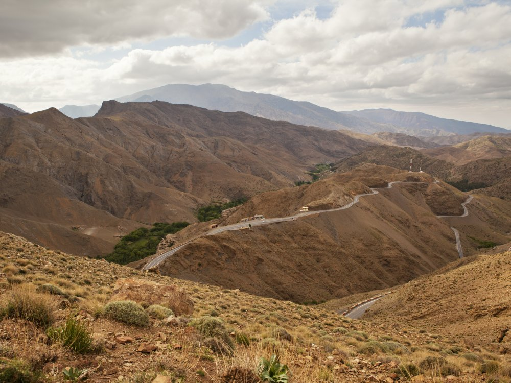 Morocco Mountains Landscape