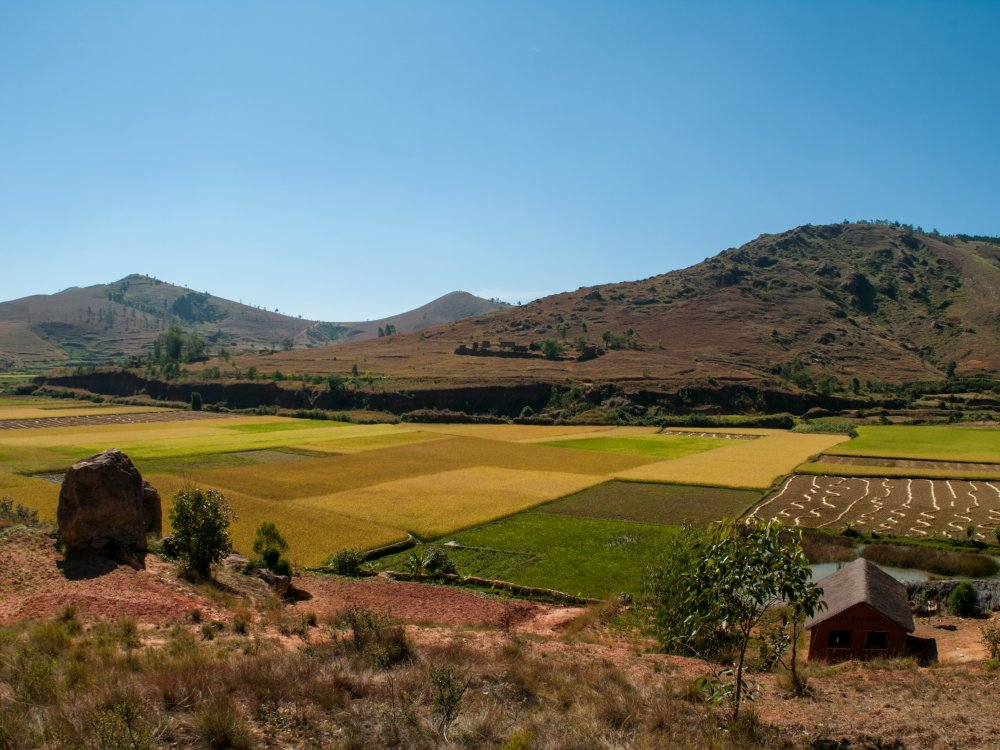 Madagascar Landschaft