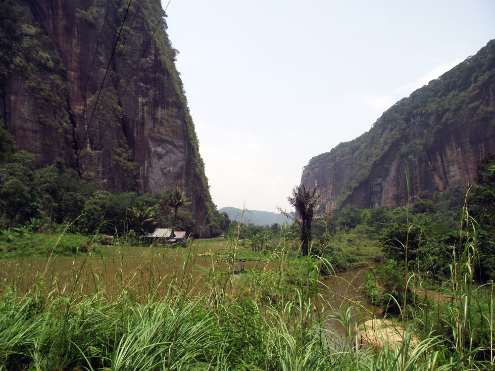 Harau Valley Landschaft