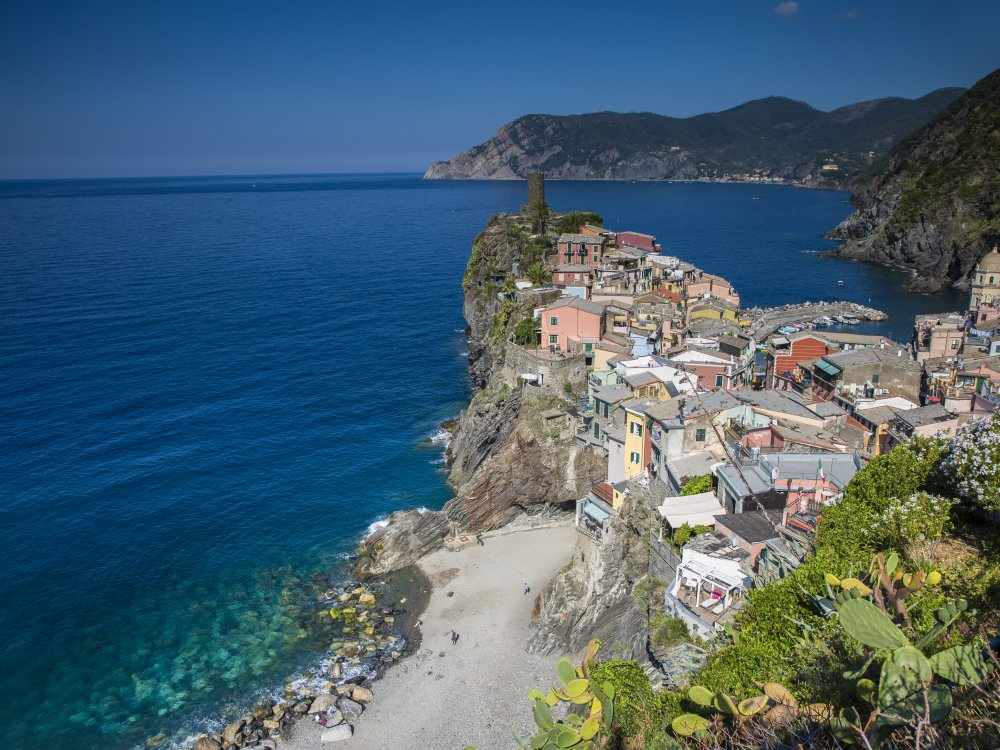 Cinque Terre Vernazza Walk of the Gods Hike Viewpoint