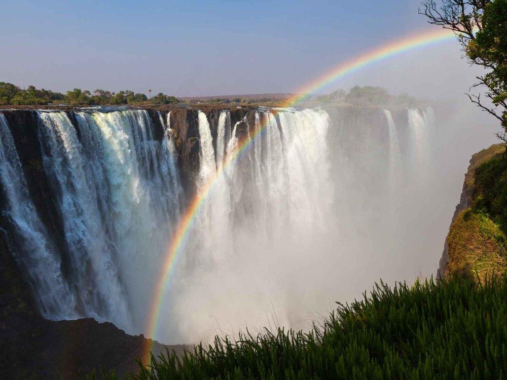 Botswana Simbabwe Victoria Falls