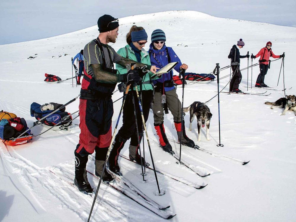 Ski-Expedition in Nord-Norwegen