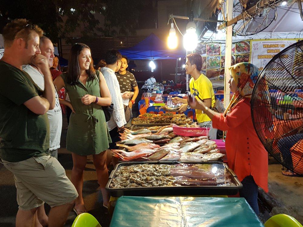 Kota Kinabalu Nachtmarkt