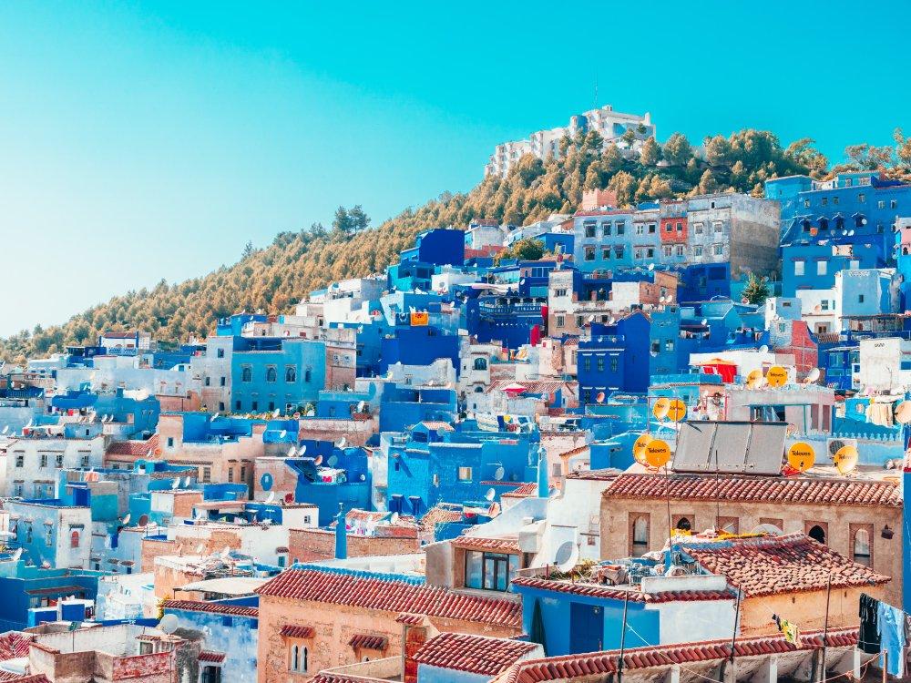 Blaue Stadt Chefchaouen