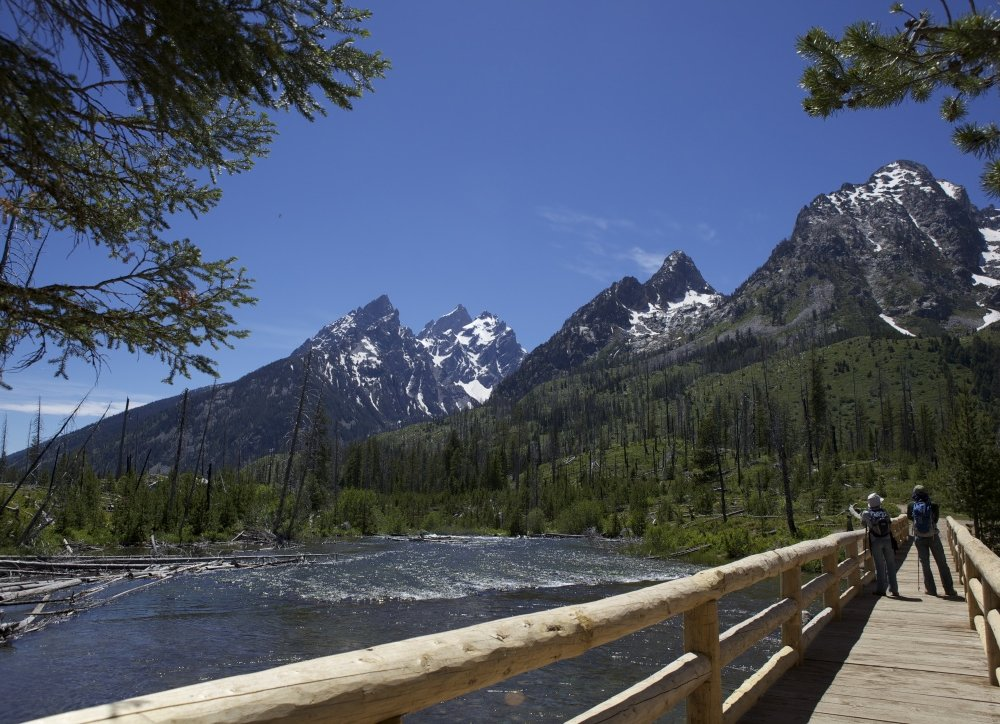 Wandern Grand Teton