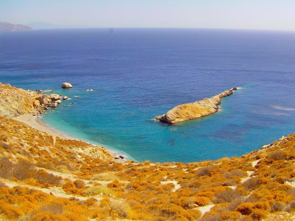 Bucht auf Folegandros