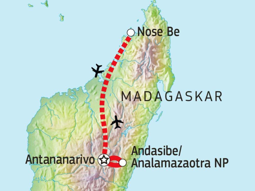 119Y82015 Madagaskar kompakt Karte