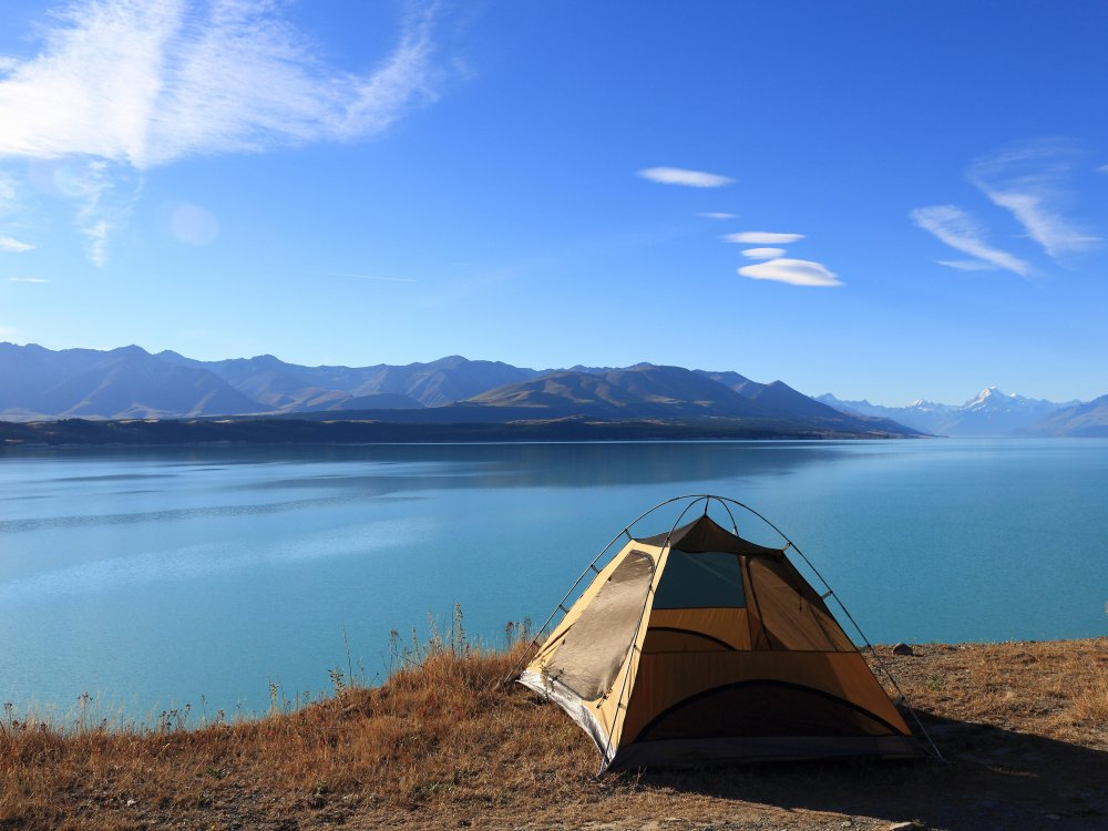 Tent with a View