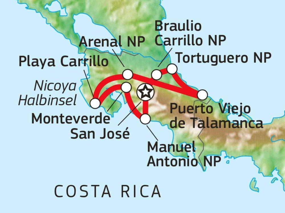 198Y21001 Wildlife Pur - Entdeckungen im Tropenparadies Karte