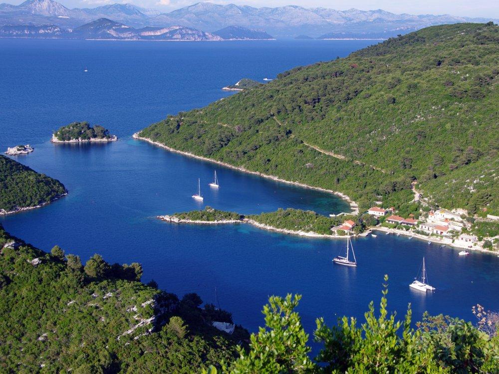 Insel Mljet Dalmatien