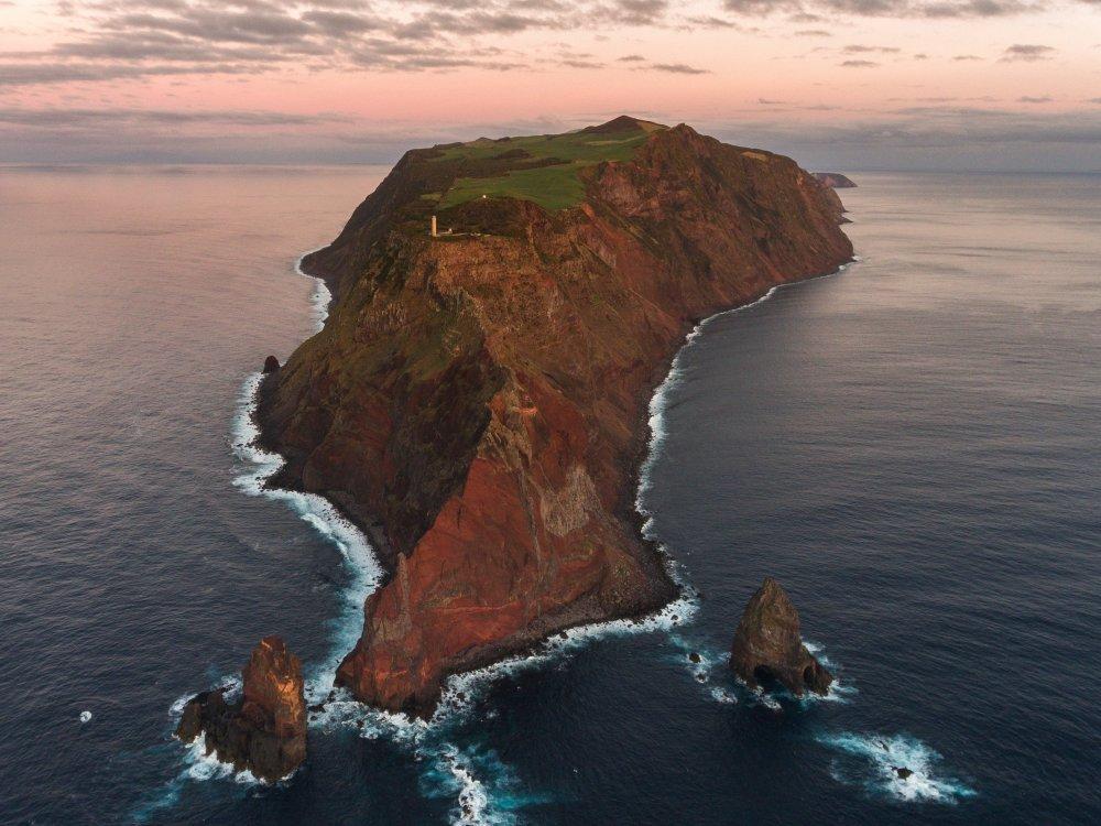 Insel Sao Jorge Azoren