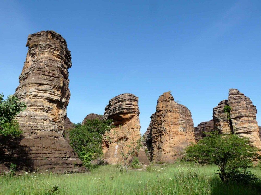 167W20002 Burkina Faso Erlebnisreise Karte