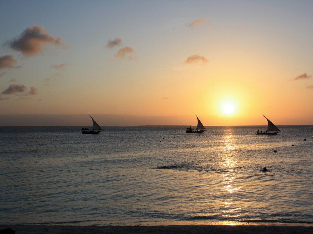 Einzigartiger Meerblick vom Strandparadies Sansibar