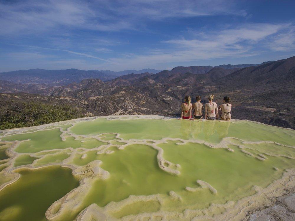 Oaxaca Petrified Waterfall