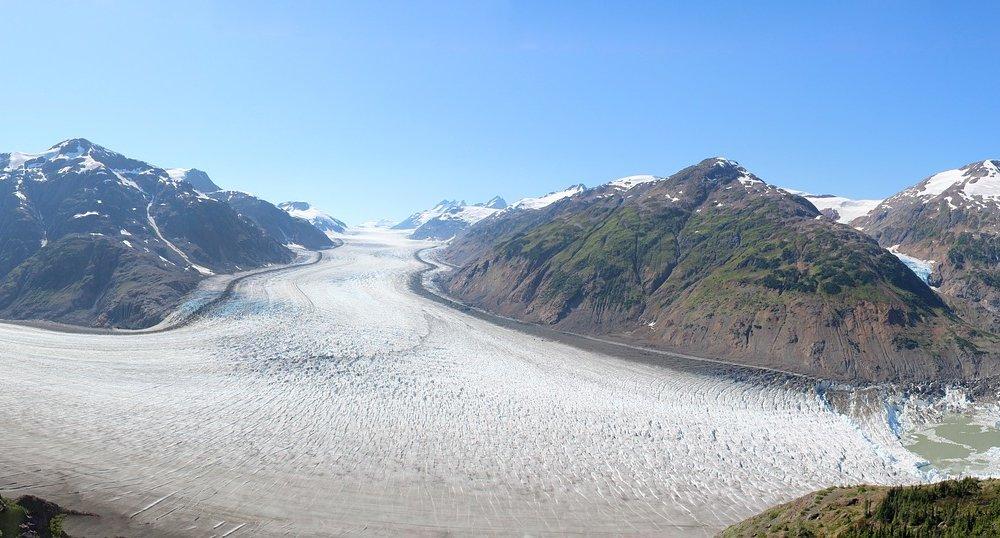 Salmon Gletscher Hyder Alaska