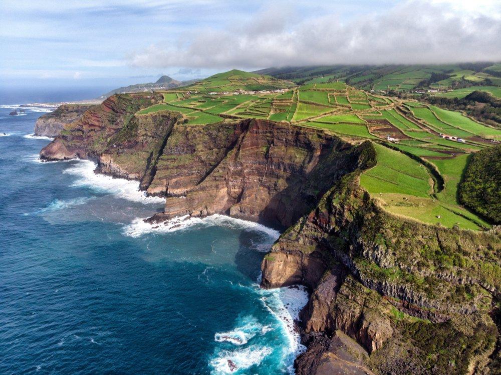Küste auf Sao Miguel Azoren