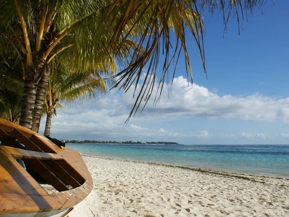 Strand und Küste auf Mauritius