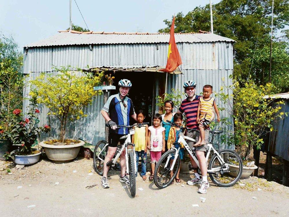 152Y31002 Mekong Delta Fahrradtour Karte