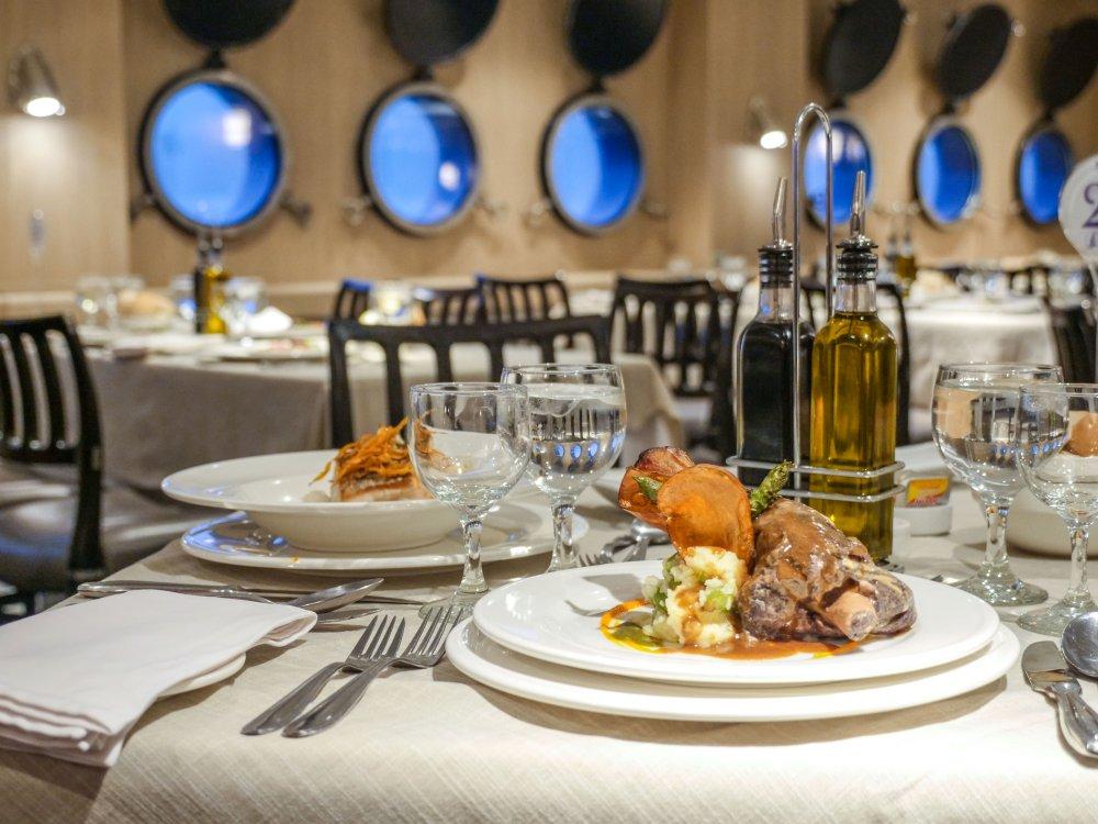 Gastronomie an Bord