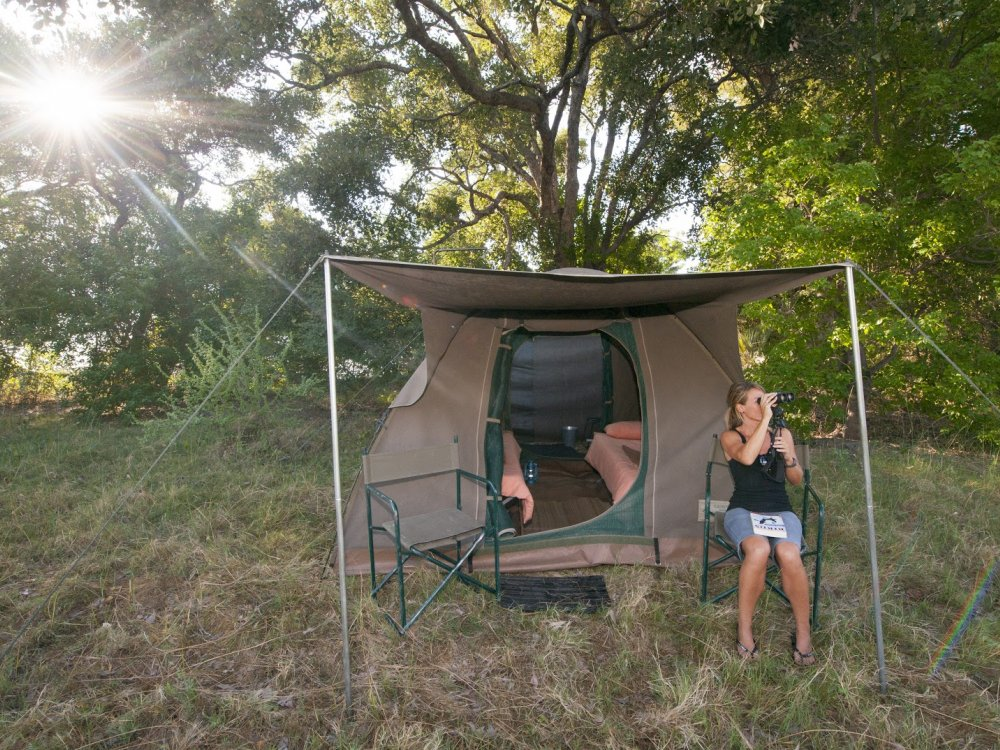 Großzügiges Zelt Safari Botswana