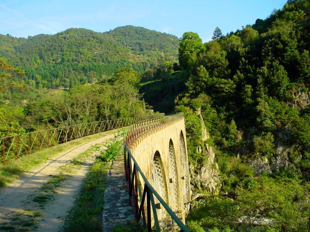 Ardèche - Viaduk