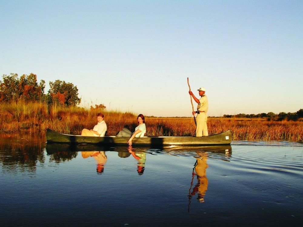 Okavango Delta Bootstour
