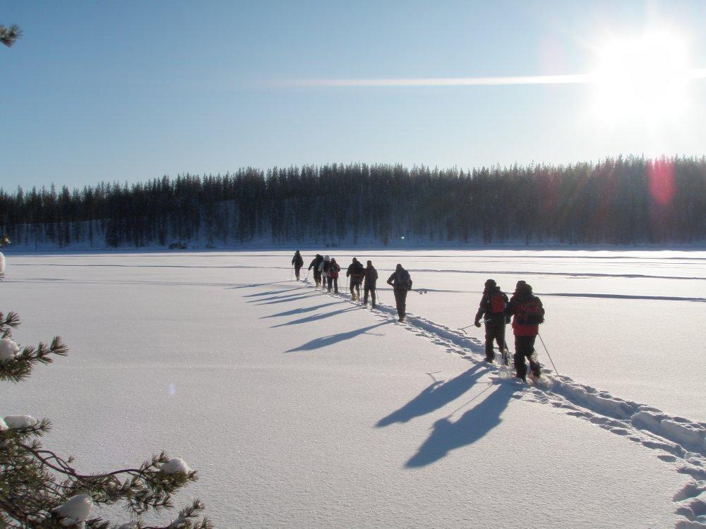 Schneeschuhtour Finnland