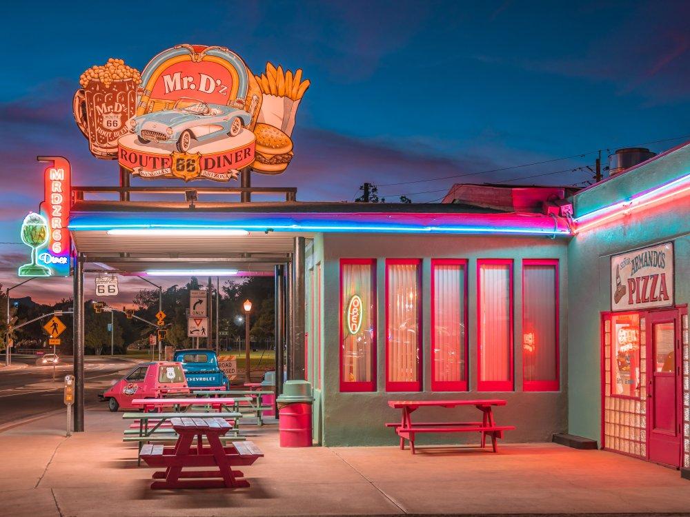 Diner an der Route 66