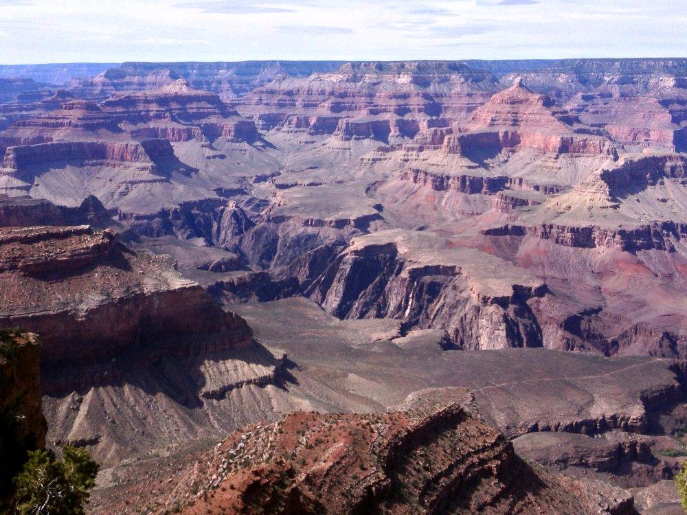 Die Schlucht des Grand Canyon