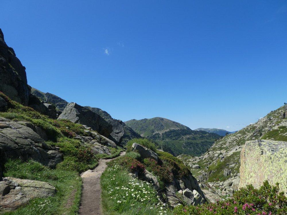 Andorra Bergwelt Weg