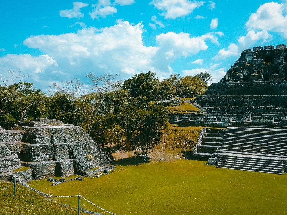 Xunantunich Maya Tempel