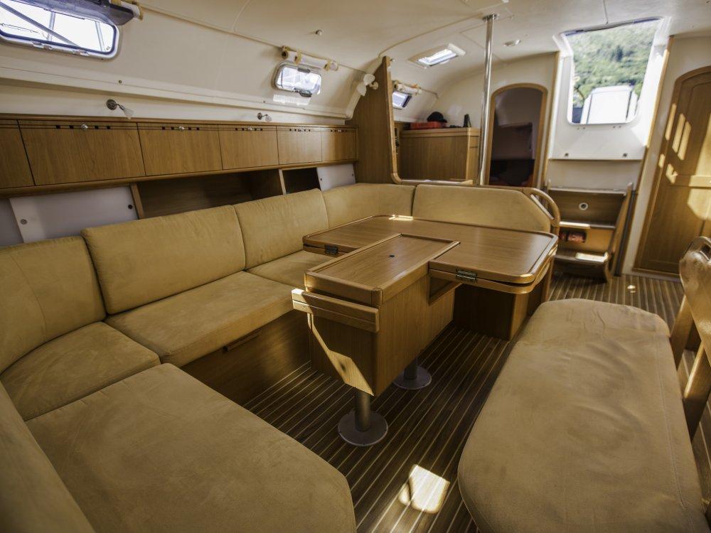 Segelboot Lounge