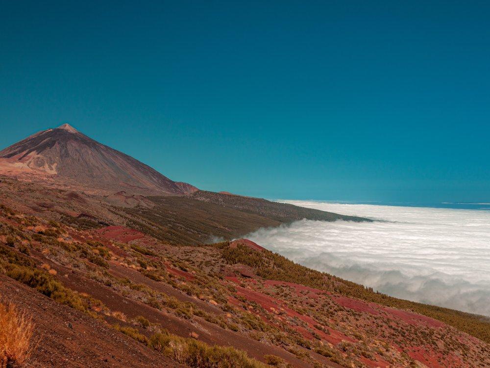 Pico del Teide mit Wolkenmeer