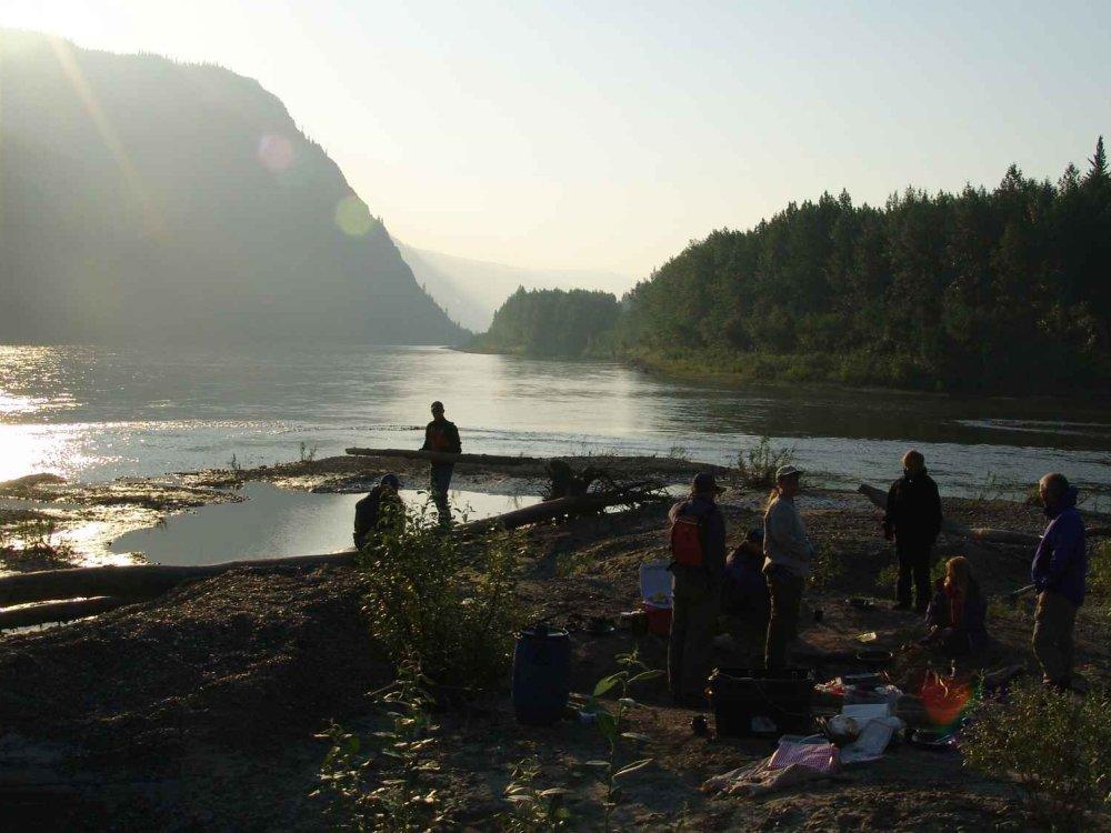 Kanutour für Frauen auf dem Yukon River
