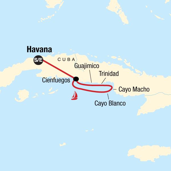Segelabenteuer Kuba Südküste