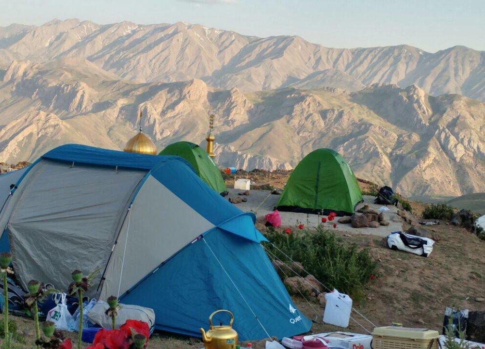 Campingplatz am Damavand