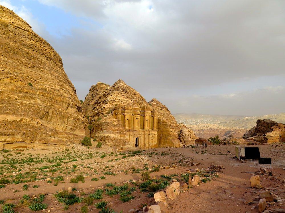 Panorama von Petra