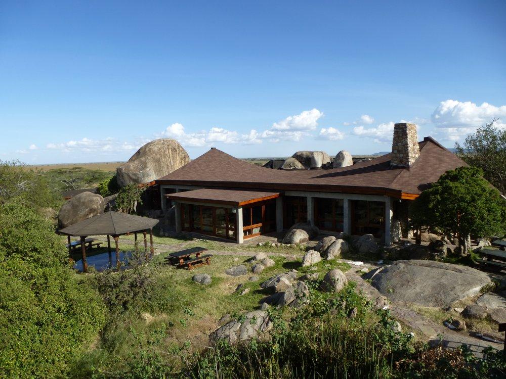 Seronera Wildlife Lodge in der Serengeti