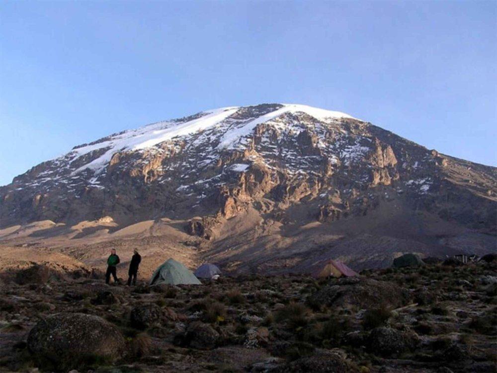 Mount Meru & Kilimandscharo Besteigung Karte