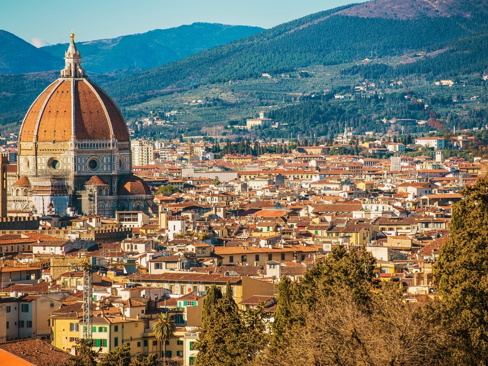 Florenz Stadtblick