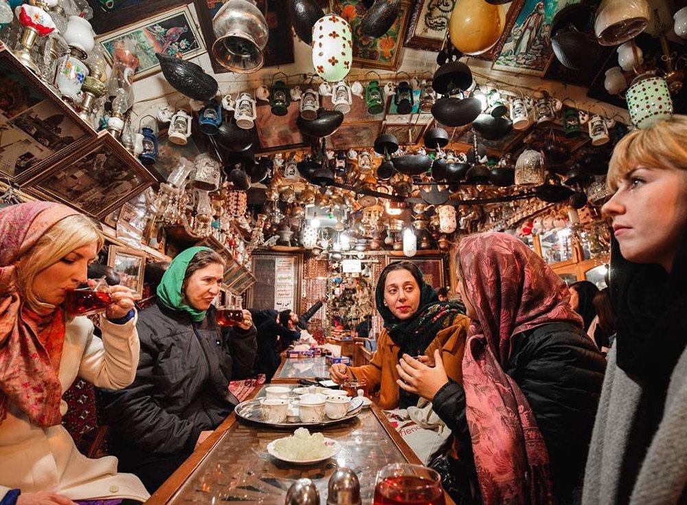 Iran Womens Expediton Group Food