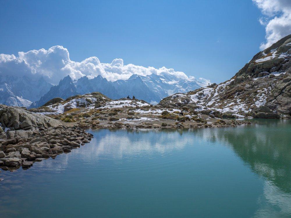 Bergsee in den französichen Alpen