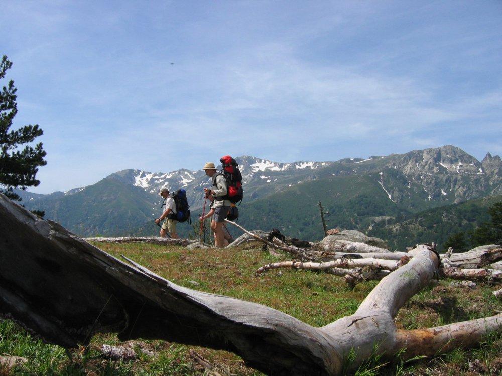 Korsika Wanderer auf dem GR 20