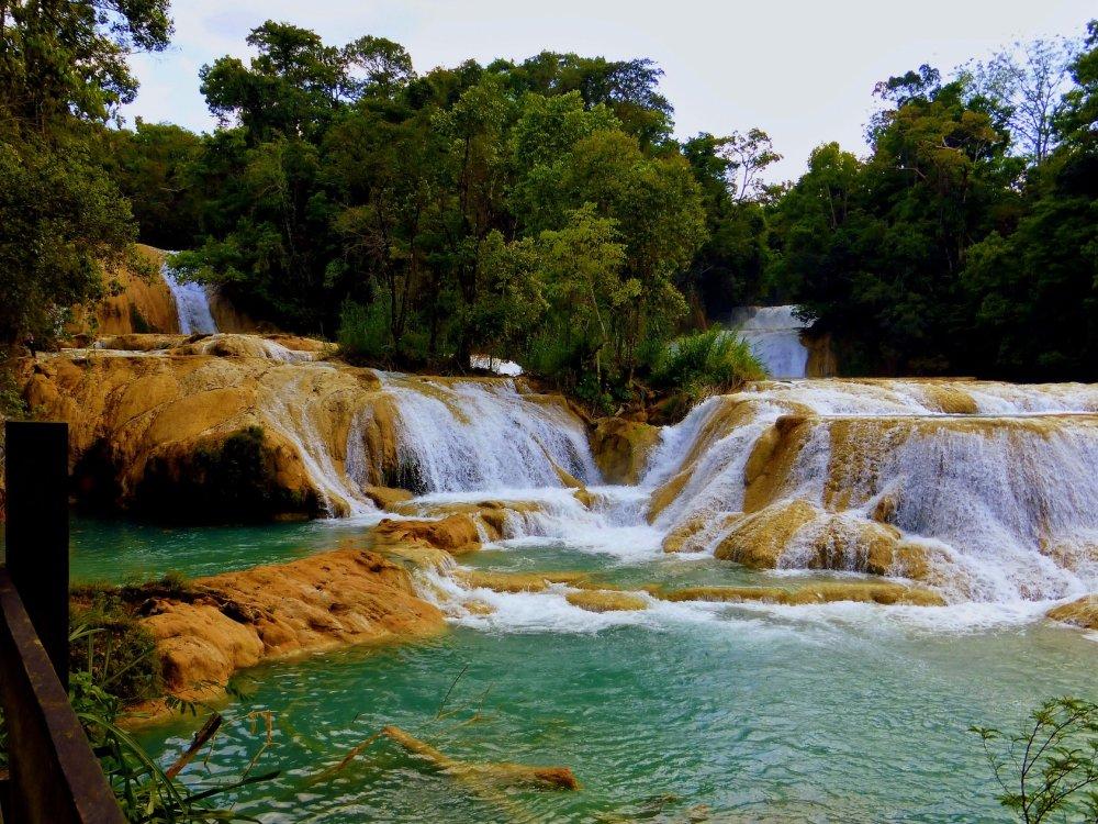 Agua Azul Wasserfall