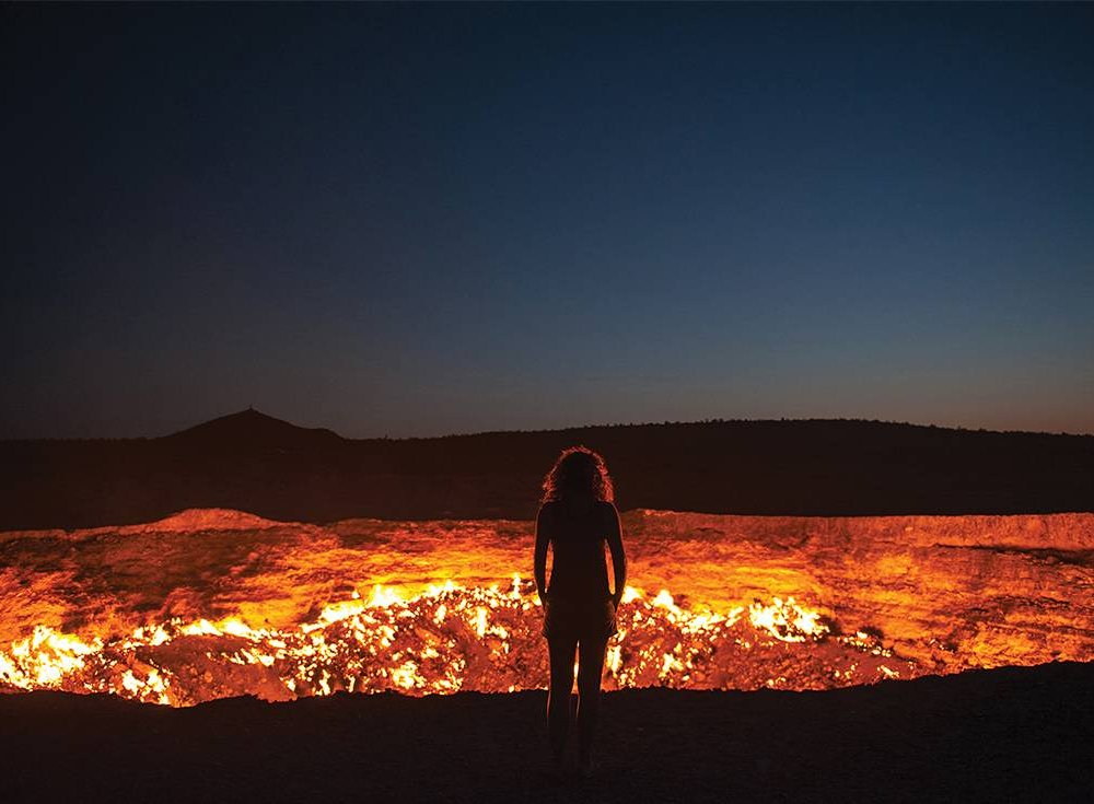 Derweze Feuerkrater Gaskrater